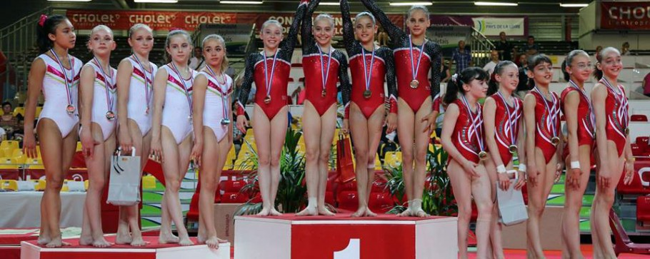 Podium championnat de France 2014